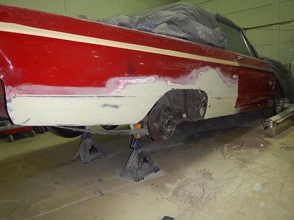 Rust Damage Repair  1966 Plymouth