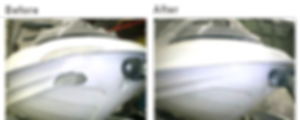 Fiberglass hull damage repair