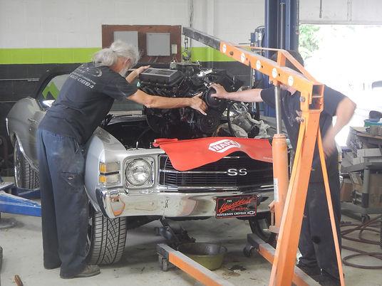 Chevrolet Chevelle Convertible | Classic Car Engine Rebuilding | That's Minor Customs