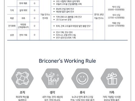 [채용 공고] BRICON