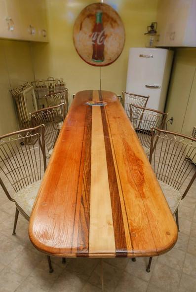 Longboard Table