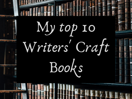 My top 10 Writers' Craft Books