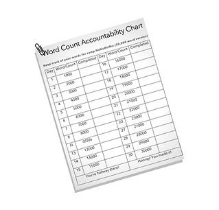 word count chart 30k words