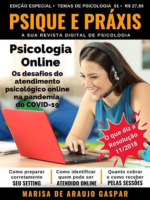 Psicologia Online: Os desafios do atendimento psicológico online - COVID-19