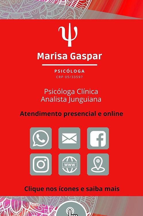 Cartão Digital Clicável Modelo 031