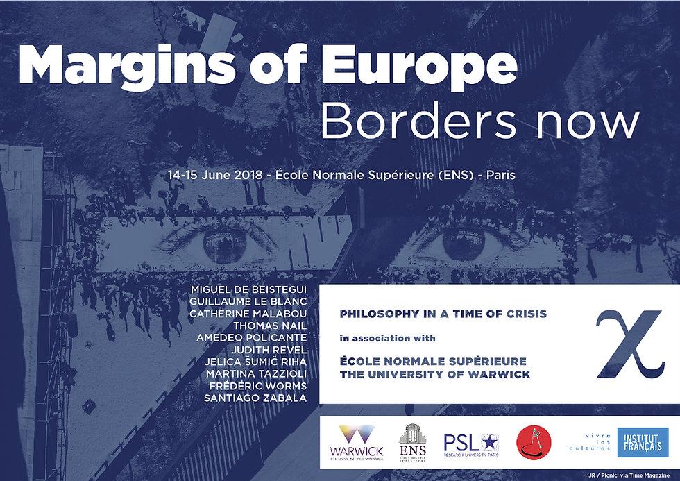 Margind of Europe Conference Poster
