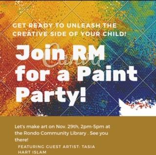 Paint Party November 2019