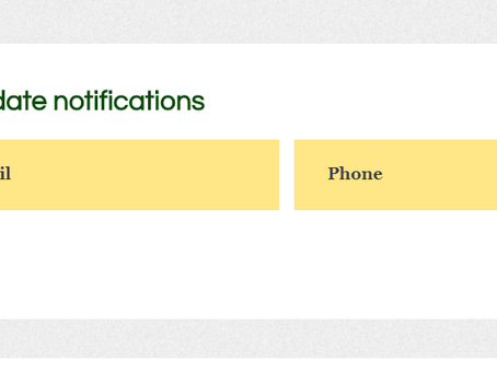 How to receive automatic notifications of website updates