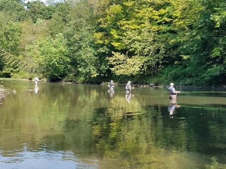 Neshannock  Creek Report for September 27, 2021 by Jack