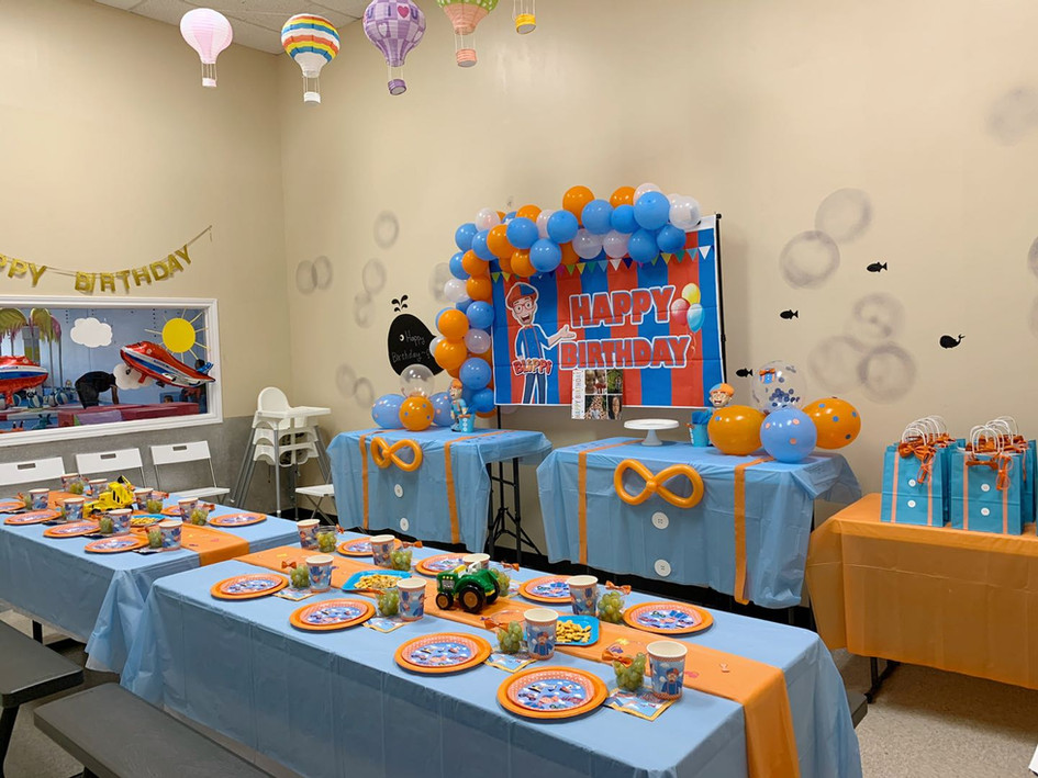 Blippi Deluxe Party