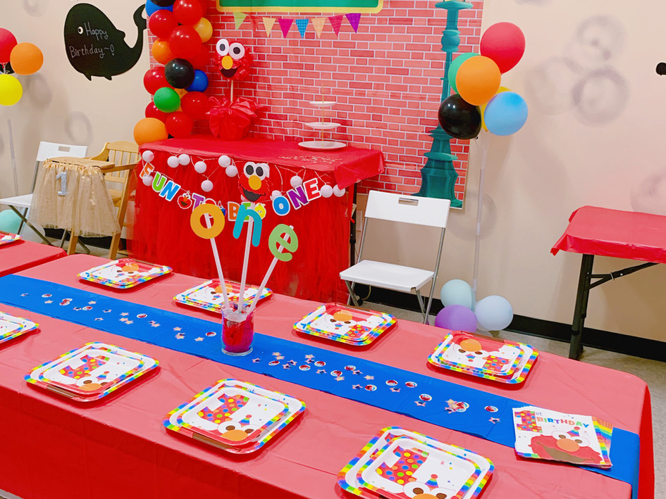 Elmo Deluxe Party