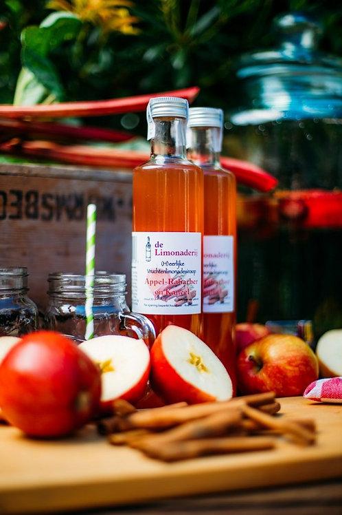 Limonade siroop  Appel- Rabarber en Kaneel