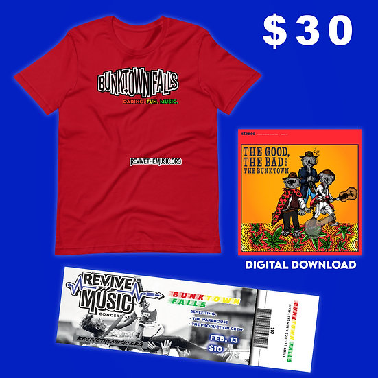 BUNKTOWN FALLS Benefit for The Warehouse Bundle!