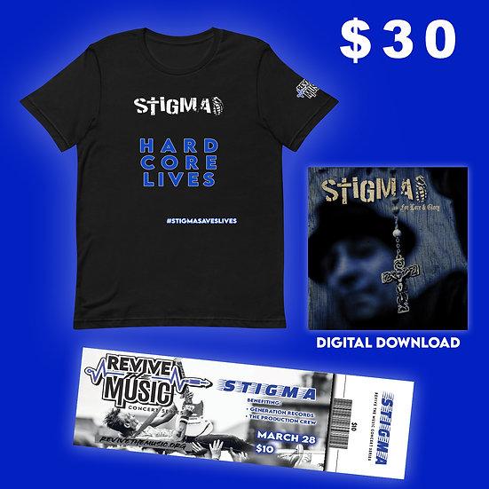 "STIGMA ""Hard Core Lives"" T-Shirt"