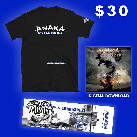 ANAKA Saves Lives T-shirt Bundle