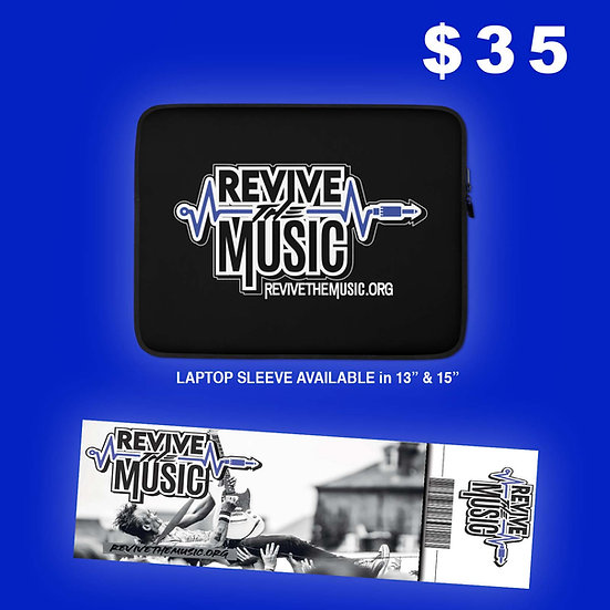 Revive the Music Laptop Sleeve Bundle
