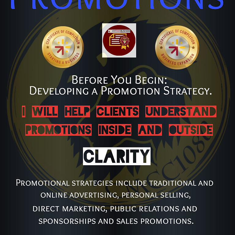 Promotion/          Presentation