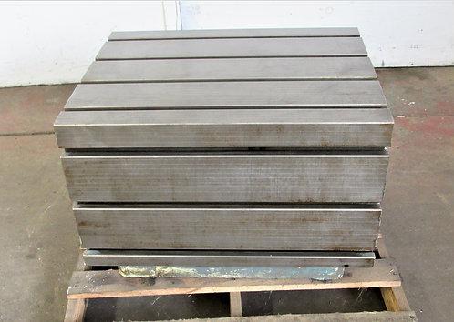 "24"" x 30"" Cast Iron Box, Work, Fixturing & Welding Table, #W-025"