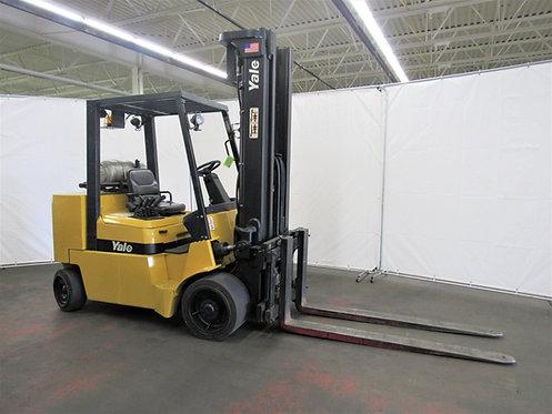 Yale Forklift, 9,000 lb. Capacity, Pneumatic Tires, LPG, Side Shift, #N-023