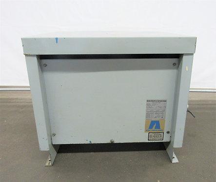 Acme 30 KVA, 3 Phase Transformer,  600-208 / 120, #E-006