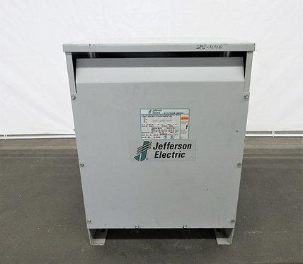Jefferson 40 KVA Electric Dry Type Isolation Transformer, #E-001