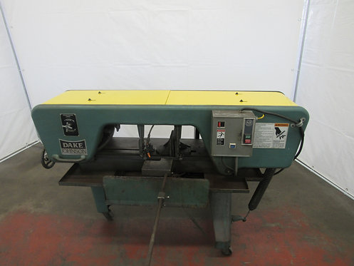 Dake- Johnson Horizontal Band Saw, #S-032