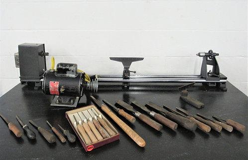 """Wood Turning Lathe 12"""" x 36"""", # L-079"""