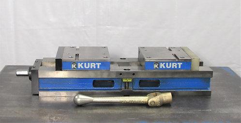 """Kurt 6"""" Self-Centering Vise SCD 640, # V-025"""