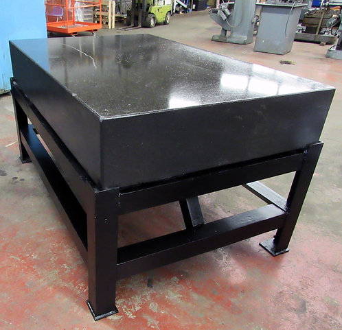 "48"" x 72"" Granite Surface Plate On Steel Stand, #I-043"