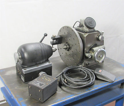 O.P.L. Precision Optical Dividing Head and Tailstock, # C-094