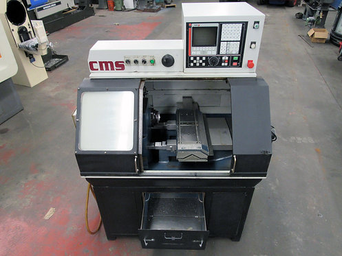 CMS Compact GT-27, 2-Axis Gang Type CNC Lathe, #L-056