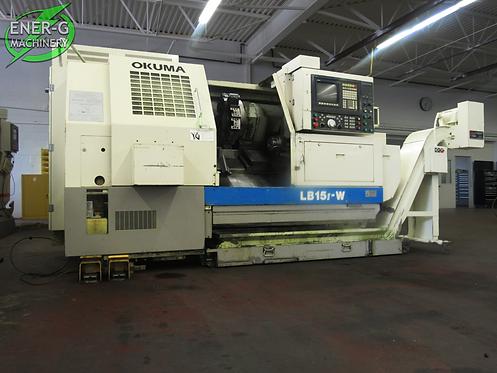 Okuma LB 15 Ⅱ-W, Sub Spindle, 3 - Axis CNC Lathe, #L-035