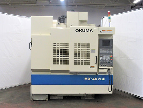 Okuma MX-45VBE CNC Vertical Milling Machine, # M-091