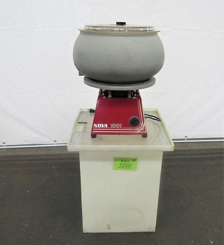 Nova 1/2HP, 1 Cu.Ft., Vibratory Tumbler Bowl, #K-011