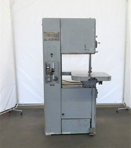 Grob NS-18 Vertical Band Saw, # S-036