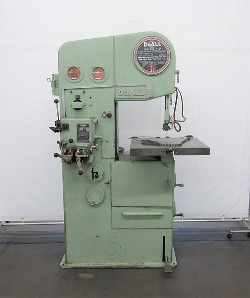 DoAll Contour 1613-2 Vertical Band Saw, # S-035
