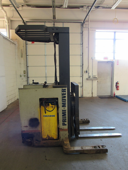 Prime-Mover Co. RR30B Stand up / Reach Forklift, #N-015