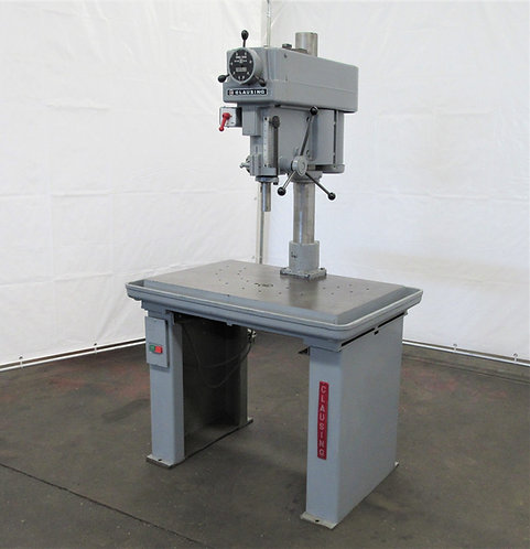 """Clausing Model 2286, 18"""" Table Type Production Drill Press, ID# D-016"""