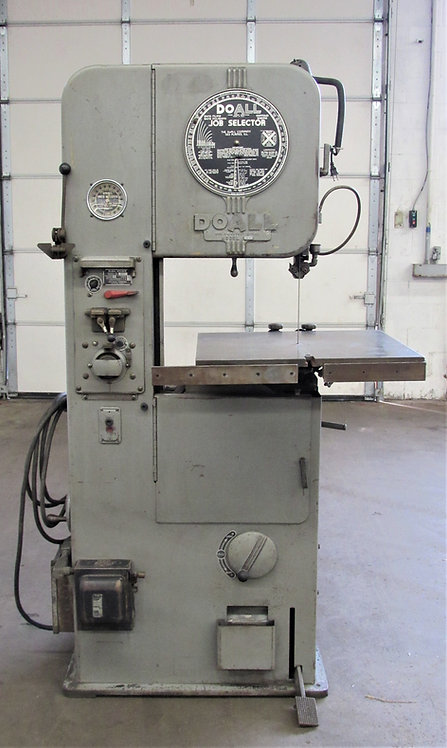 DoAll ML-16 Vertical Band Saw, #S-031