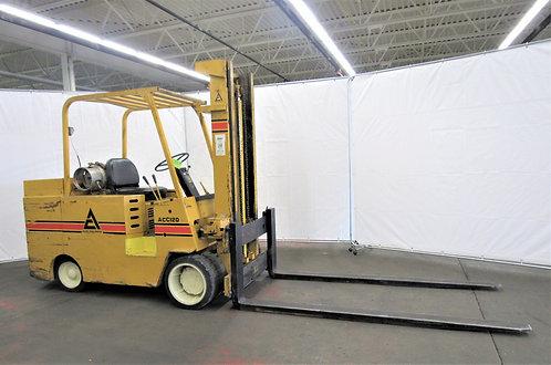 Allis Chalmers Forklift, 12,000 lb. Cap., Dual Tires, LPG, #N-021