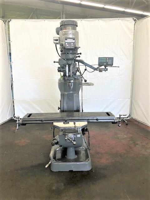"Bridgeport Series I Ram Type Vertical Mill, 9"" x 48""Tbl., #M-080"