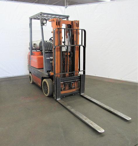 Toyota 5FGC15, 2,700 lb. Capacity, Propane Forklift, #N-024