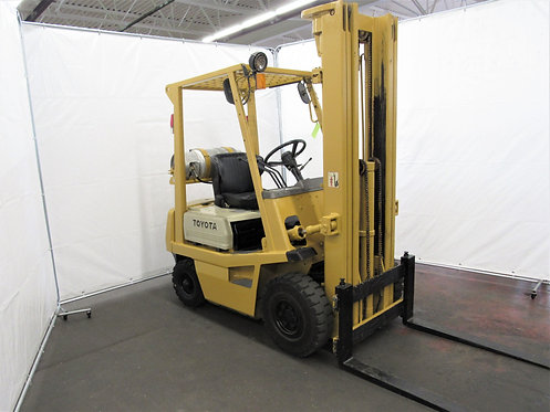 Toyota Forklift, 2,500 lb. Capacity, LPG, # N-020