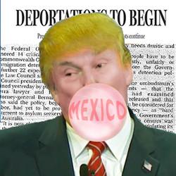 Trump bubble gum