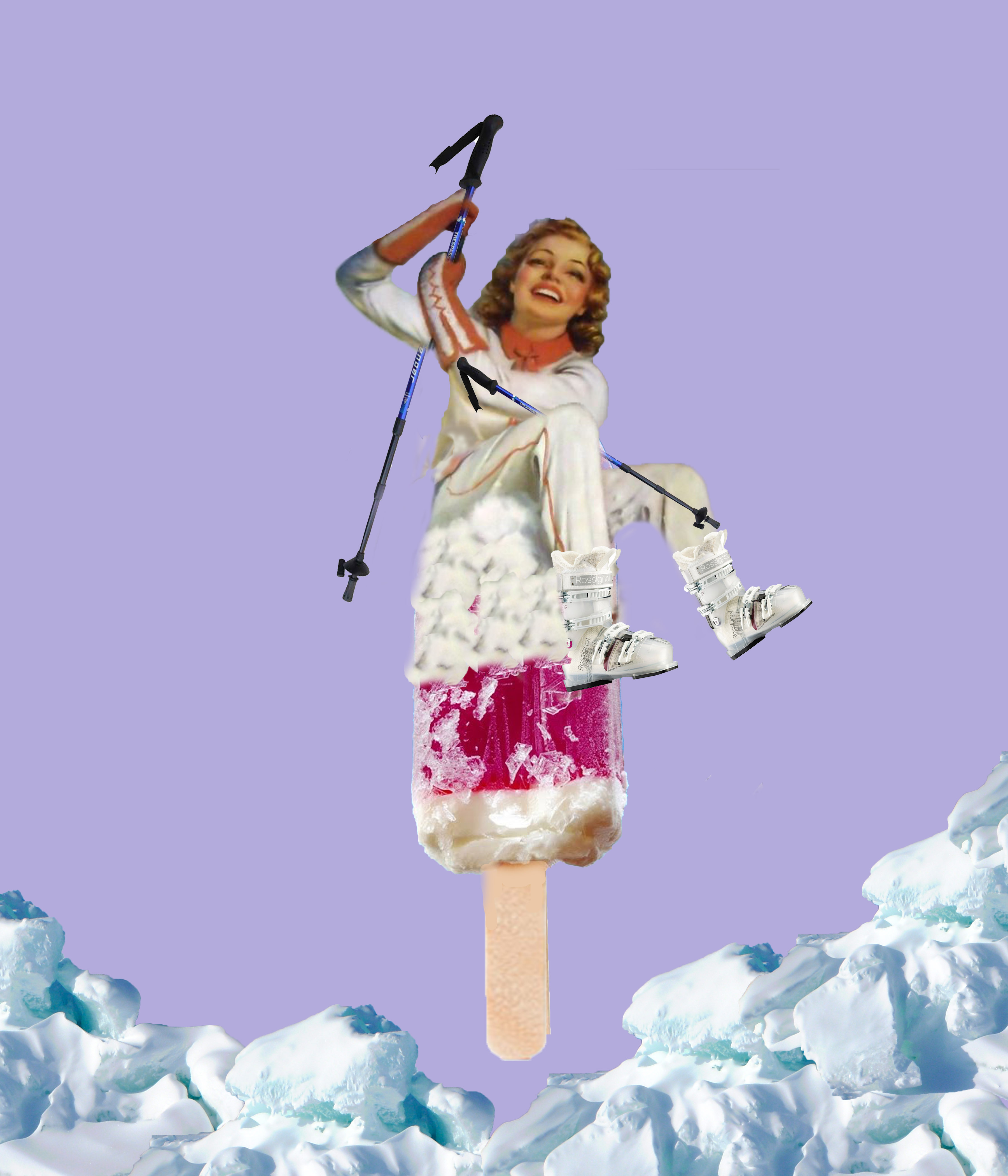 popsicle skiing 2