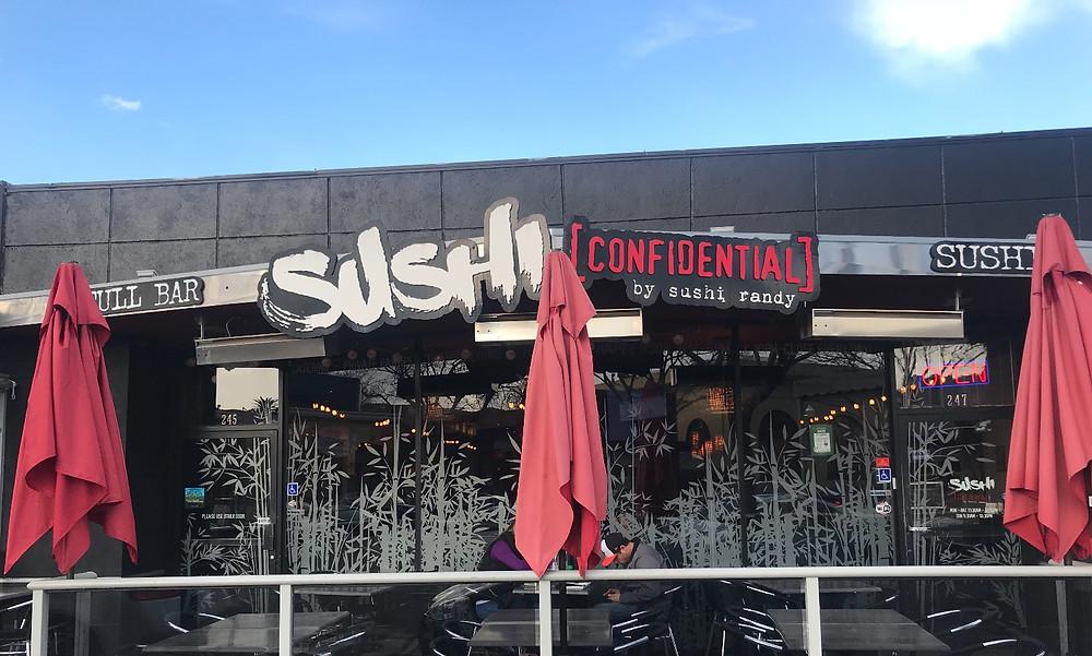 Sushi Confidential storefront