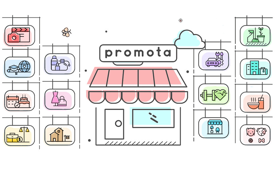 Promota app now covers 14 small business industries