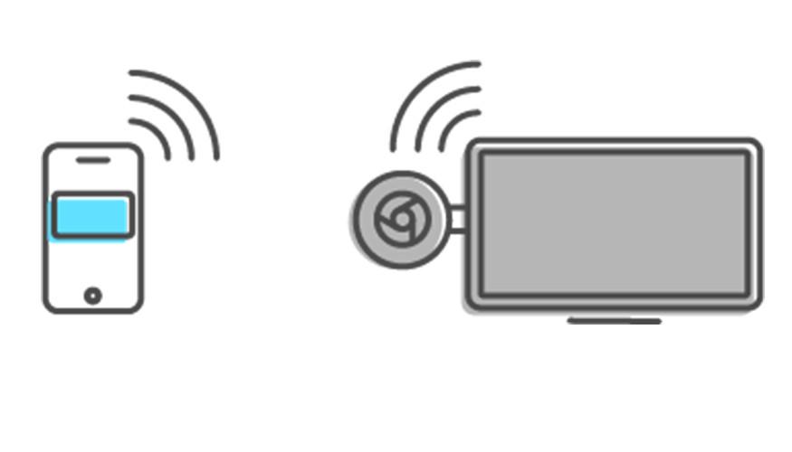 Connect to a Chromecast