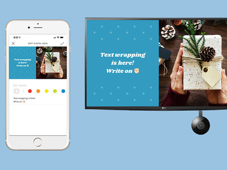 Introducing Text-Wrapping and Holiday Templates