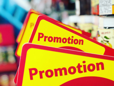 3 Easy Steps to Promote a Sale or Special